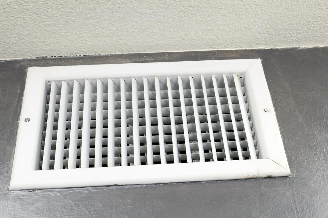 air way of the air vent